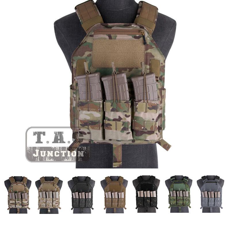 Emerson Tactical LBX-4020 A2 Armatus Chaleco ajustable Portador de Placa Slick II