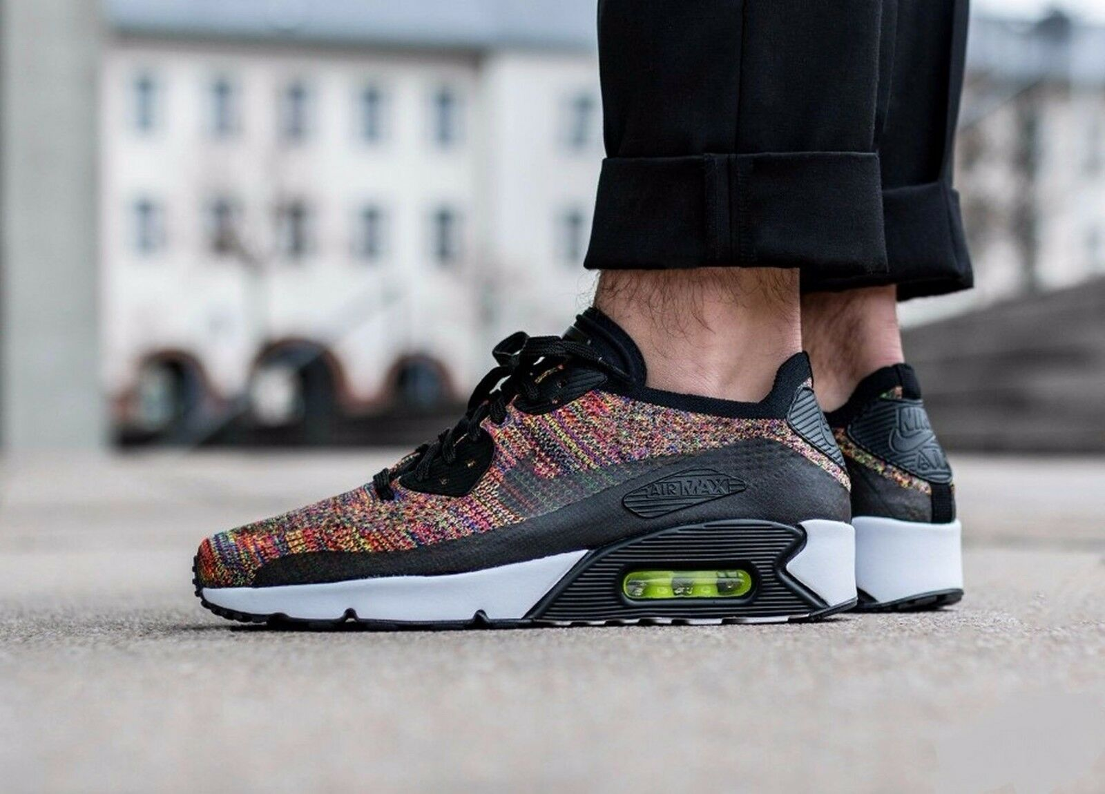 NIKE AIR MAX 90 ULTRA 2.0 FLYKNIT 875943-002 MENS Price reduction New shoes for men and women, limited time discount