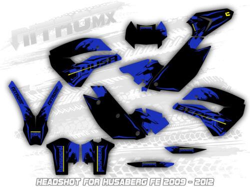 HUSABERG FE 390 450 570 2009 2010 2011 2012 Graphics Kit Decals Design Stickers