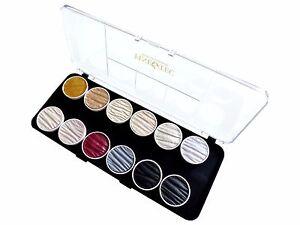 12-ARTISTES-nacre-couleurs-s6-3-Or-argent-Shimmer-Gloss-CONIQUE-COULEURS