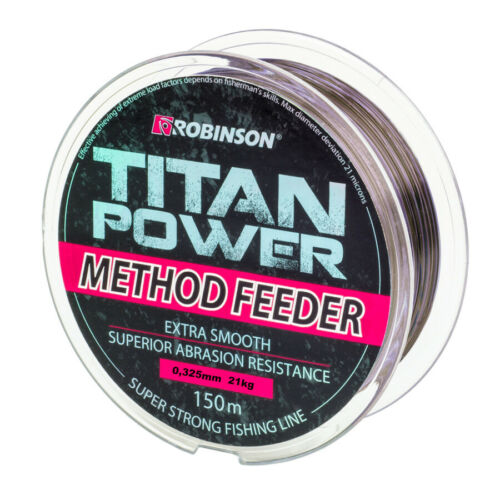 Angel cuerda robinson Titan power method Feeder 150m//0 175-0,345mm feederschnur