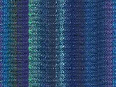 NORO ::Silk Garden #373:: silk mohair wool yarn Blues-Sea Green-Violet-Nut