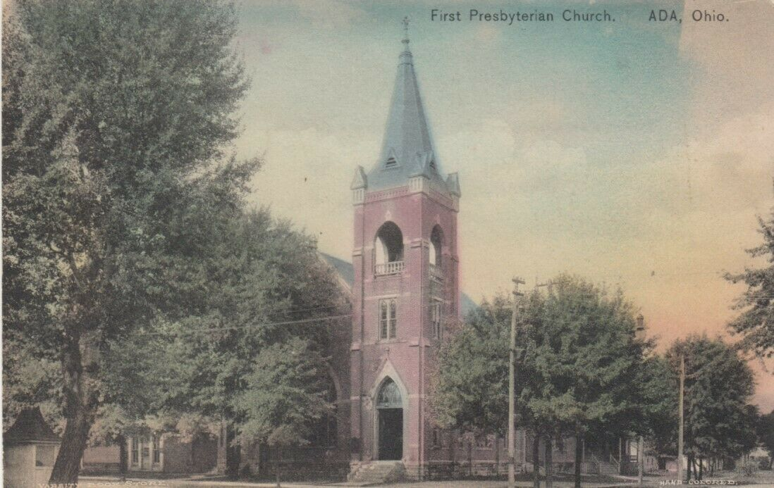 ADA, Ohio;  00-10s; First Presbyterian Church
