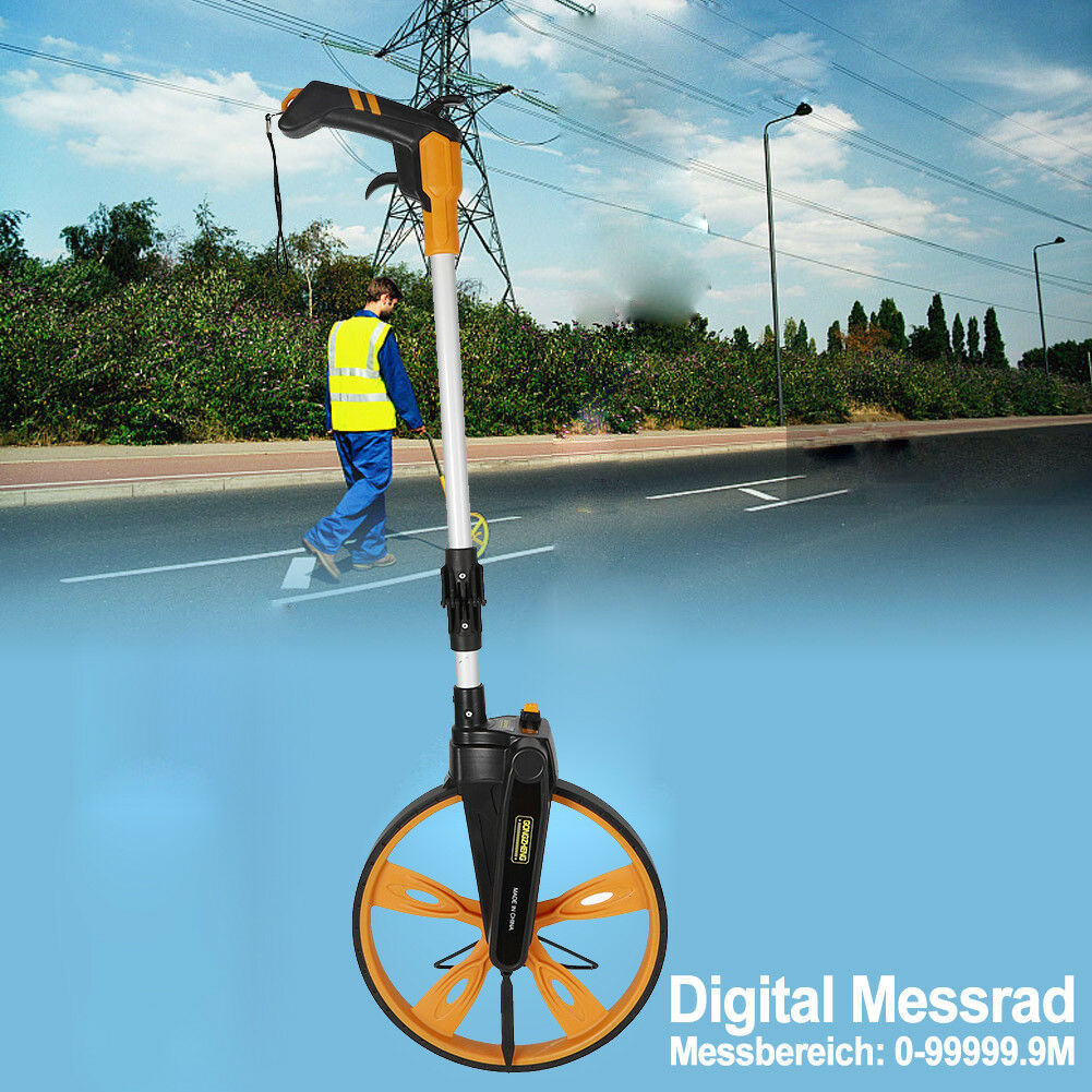 Messrad Rolltacho Vermessungsrad Roll Entfernungsmesser Measuring Device TPR DHL