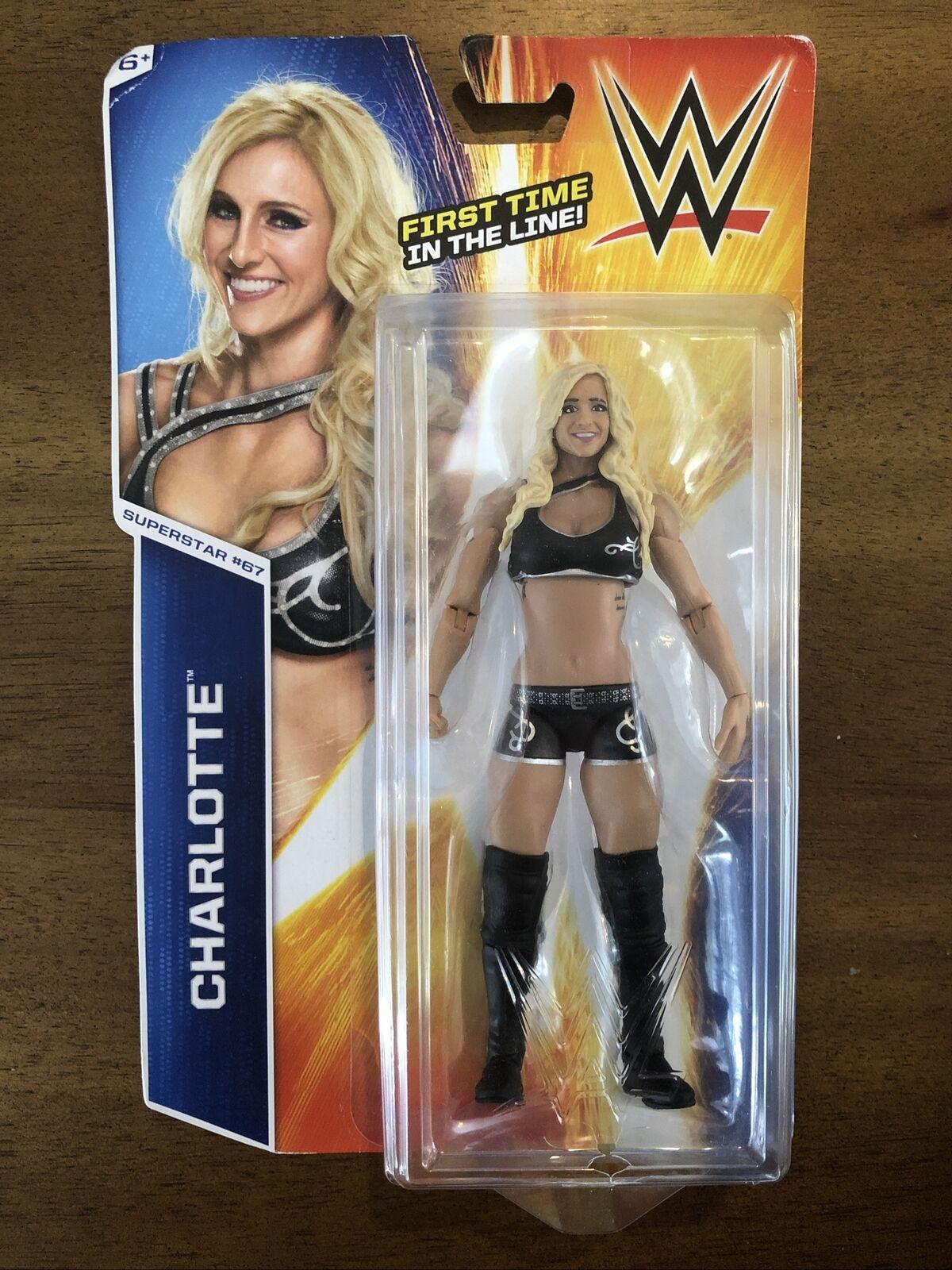 Charlotte Flair WWE Mattel Basic Series 86 Brand New Action Figure Toy Mint PKG