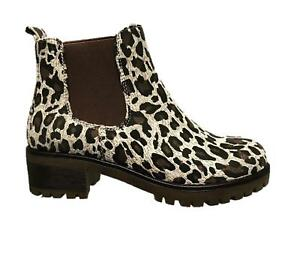 New-Womens-Ladies-Chelsea-Ankle-Boots-Chunky-Block-Heel-Grip-Sole-Comfy-Shoes-Si