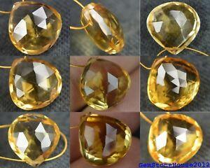 Citrine Pear Shape Gemstone Beads Natural Shaded Citrine Beads,AAA 77 Pcs,Natural Faceted Citrine Shaded Pear Cut Gemstone Beads Citrine.