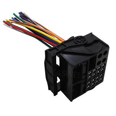 car stereo radio wiring harness plug for bmw 2001-2002 540i 2000-2012 x5 |  ebay  ebay
