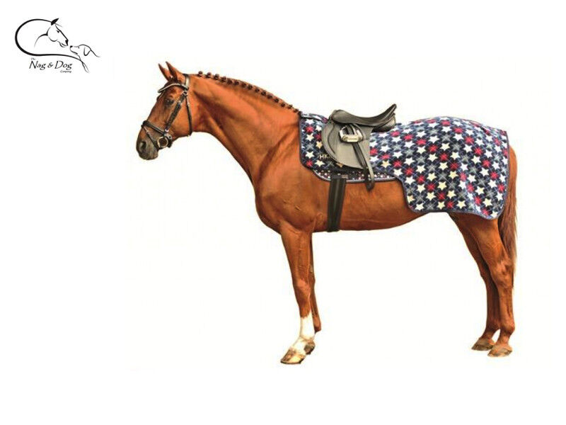 HKM  Stars  Horse Exercise Sheet Rug Polar Fleece Choice Sizes Free Delivery