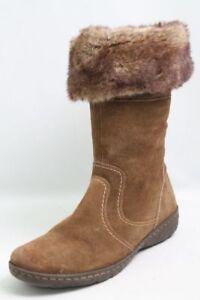Caprice-Stiefel-braun-Leder-Warmfutter-Gr-41-UK-7