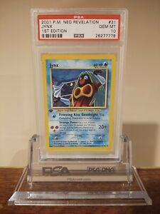 2001 Pokemon Neo Revelation Jynx PSA 10 1st edition