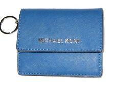 811aaff685d837 item 2 Michael Kors Jet Set Travel Steel Blue Leather ID Card Case Key  Holder NWT $118 -Michael Kors Jet Set Travel Steel Blue Leather ID Card  Case Key ...