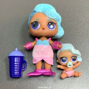 Lol-Surprise-Doll-Bling-Series-Splash-Queen-doll-amp-Lil-Sister-Glitter-Poupees