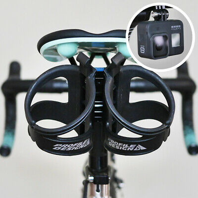 Profile Design Saddle Rear Mount Water Bottle Cage Holder Aero Triathlon TT RML