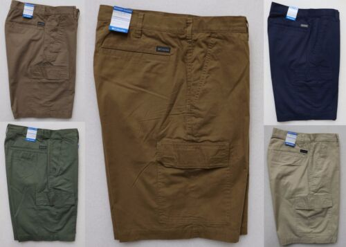 """COLUMBIA RED BLUFF MEN/'S CARGO SHORTS 10/"""" INSEAM CASUAL MODERN CLASSIC FIT NEW"""