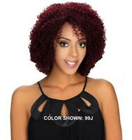 Royal Imex Hr Remy Cory Super Tight Jerry Curl 100% Human Hair Curly Wig