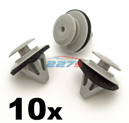 Sill Cover /& Door Moulding Trim Clips for Mazda 6 /& Mazda CX-9 10x Side Skirt