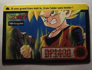 Ref207-Carte-Dragon-Ball-Z-Carddass-Bandai-1995-Total-N-794-148-Songoten