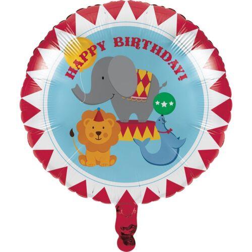 """18/"""" Hoja de animales de circo Globo Helio Elefante Fiesta de Cumpleaños para Niños Lindo"""