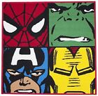 Character World Marvel Comics Avengers Rug- 80 X 80cm