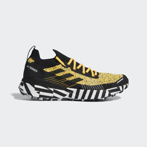 NEW-Adidas-TERREX-TWO-ULTRA-PARLEY-FW7424-Solar-Gold-Trail-Men-039-s-Running-Shoes