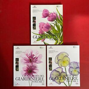 Brickell ENCICLOPEDIA DEL GIARDINIERE 3 Volumi COMPLETA Ed.Cairo (2015) Gardenia