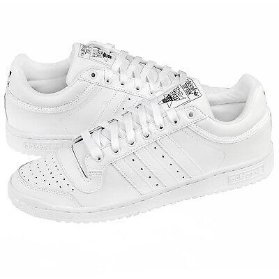 Adidas Originals TRIPLE WHITE Top Ten Lo Classic Mens Shoes, Shoes C77113 *SIZES