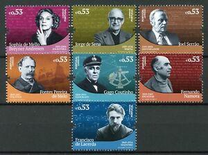 Portugal-2019-MNH-Portuguese-Historical-Figures-7v-Set-Famous-People-Stamps