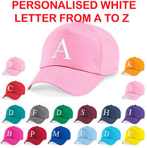 Image is loading Personalised-Kids-Embroidery-Baseball-Cap-Girls-Boys- Childrens- da2bb78e1a6