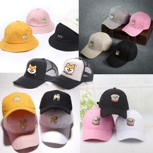 Shiba Inu Bulldog Baseball Trucker Golf Sports Adjustable Hats Hachiko Ball Caps