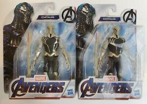 Marvel-Avengers-Chitauri-6-Inch-Scale-Marvel-Villain-Action-Figure-Lot-of-2