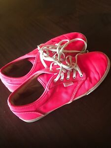 b800cf27f95e2c Image is loading Vans-Authentic-Hot-Pink-Bright-Pink-Neon-Women-