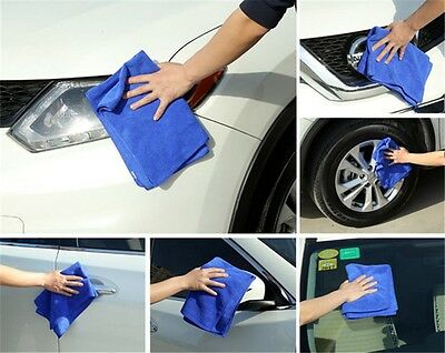 Household Supplies & Cleaning 1/5/10pcs Large Soft Microfiber Absorbent Towel Car Cleaning Kitchen Wash Cloth Profit Small Home & Garden