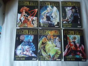 Lote-Pilgrim-Jager-6-Tomos-1-2-3-4-5-6-Asuka-Manga-VF-Completo-Series-Complete