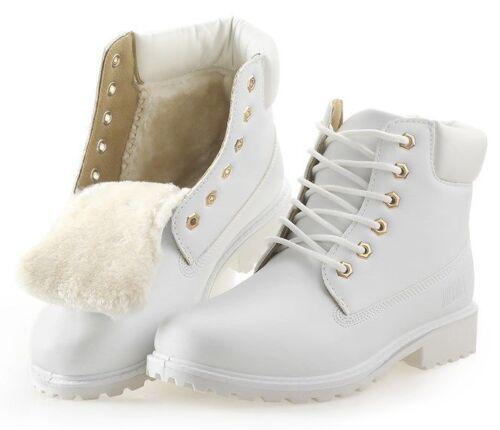 Femme Cheville Bottes à la mode Outdoor Snow Wear Chaussures de travail et Chaussures de sécurité