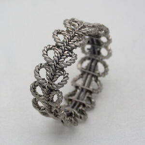 lia-sophia-signed-jewelry-antique-silver-tone-stretch-bangle-openwork-bracelet