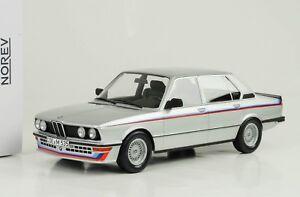1980-BMW-535i-M535i-E12-Silver-Metallic-1-18-Norev-183266