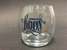 Lions Vodka Glas Tumbler Munich Vodka Glass Bar Cocktail Deko NEU OVP