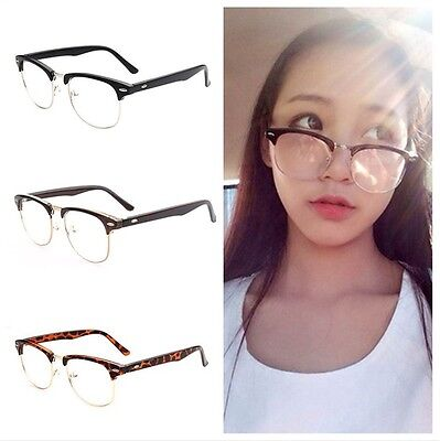 Rubber Coated Matte Black Frame CLEAR LENS GLASSES New Model Hipster Nerd Retro