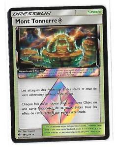 Carte-Pokemon-191-214-mont-tonnerre-prisme-rare-neuf-prisme-SL8