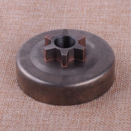 Iron Clutch Drum 3//8 6T Sprocket for Partner 350 351 352 370 390 420 Chainsaw