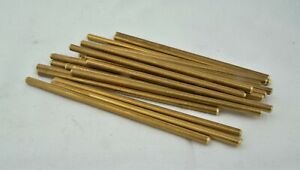 4mm-x-100mm-Brass-Rod-for-Handle-Making-Knife-Scales-Pins-Bushcraft
