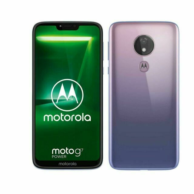 Motorola Moto G7 Power 6 2 Inches 12mp 64gb Unlocked Smartphone Iced Violet For Sale Online Ebay