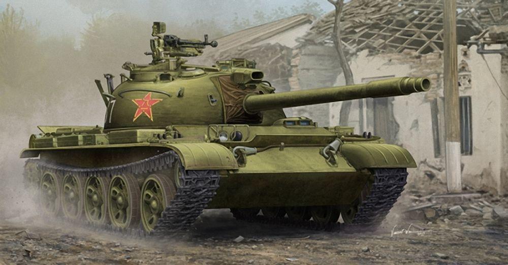 TRU05537 - Trumpeter 1 35 - PLA Type 62 Light Tank