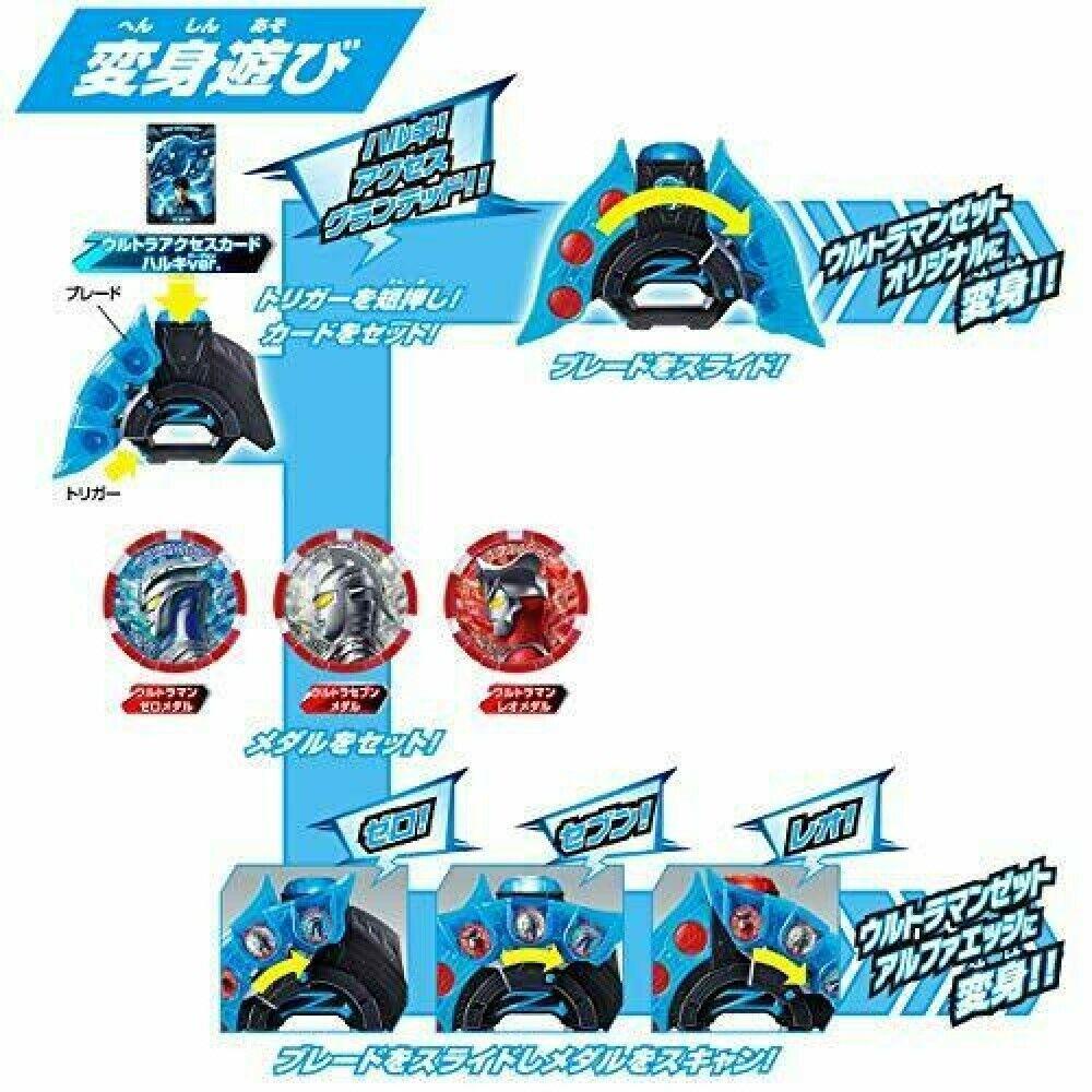 Bandai Ultraman Z DX Ultra Z Riser Pretend play present Boy New F//S