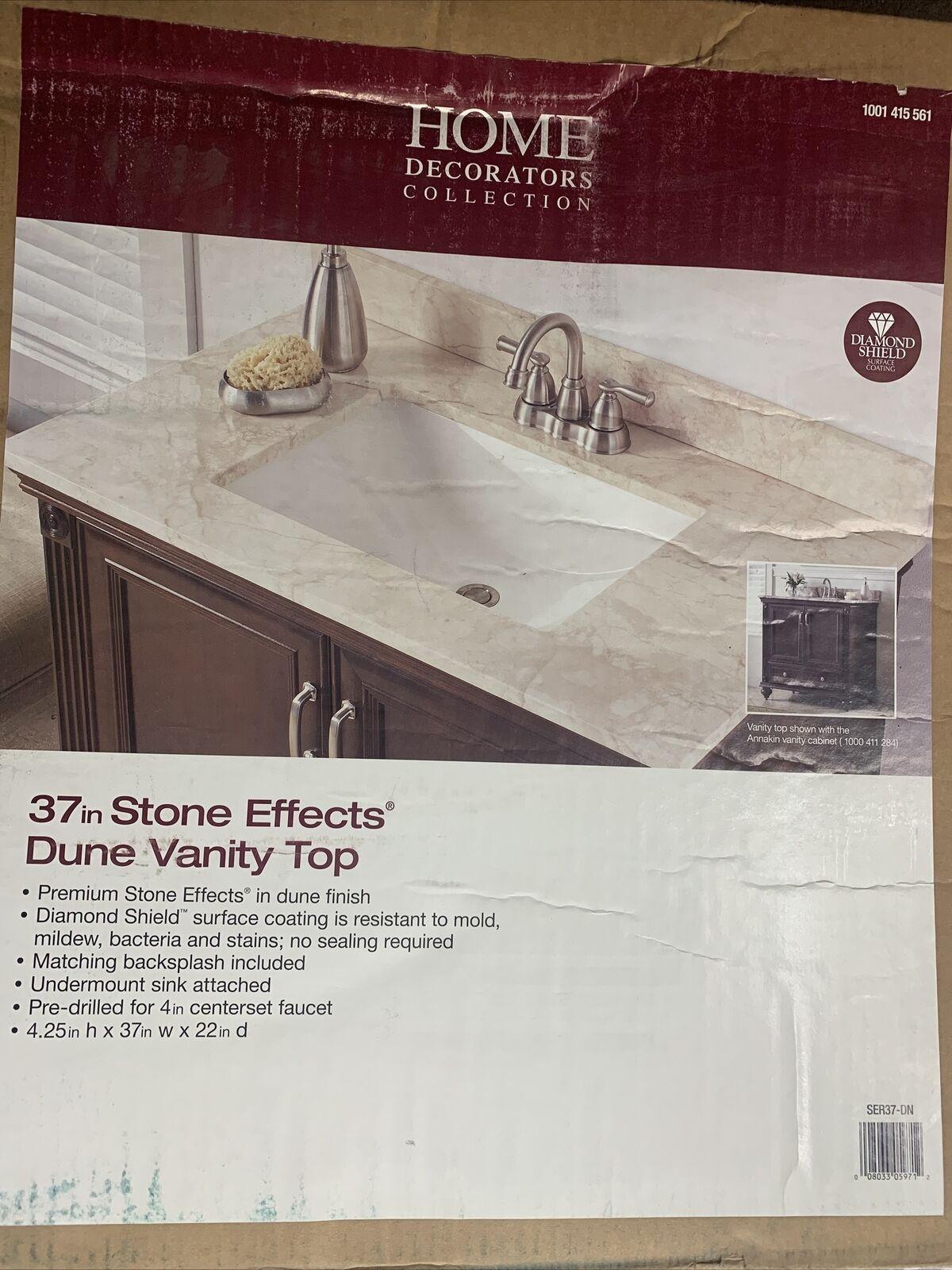 Home Decorators Collection 37 In W X 22 In D Engineered Quartz Vanity Top For Sale Online Ebay
