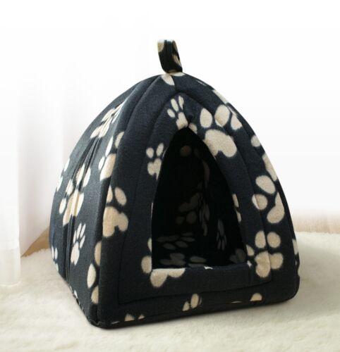 Safari Brown Grey Pink Black Paws Animal Print Cat Dog Pet Hut Bed Igloo Cosy