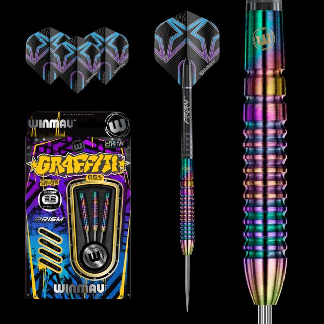 Dart Set Darts WINMAU Graffiti Steeldarts