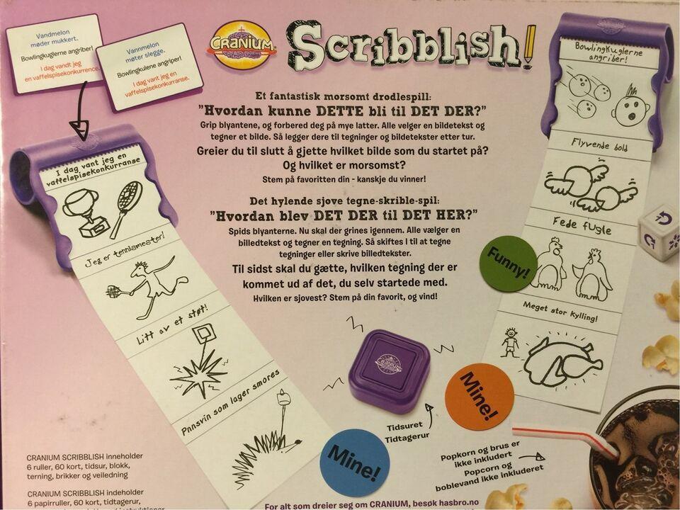 Cranium Scribblish, Familiespil, brætspil