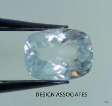 AQUAMARINE 10X8 CUSHION CUT CHECKERBOARD TOP OUTSTANDING BLUE COLOR ALL NATURAL